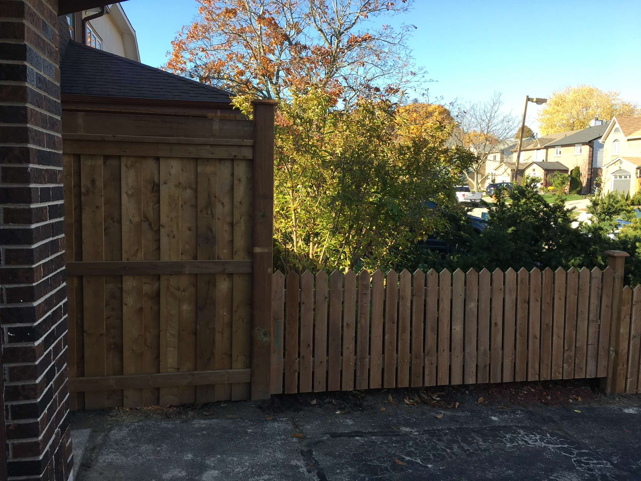 Fences: Privacy fence is one of the most popular choices when investing in fence & deck in Oshawa