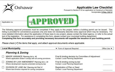 Oshawa Building Permits – Durham Region Renovations